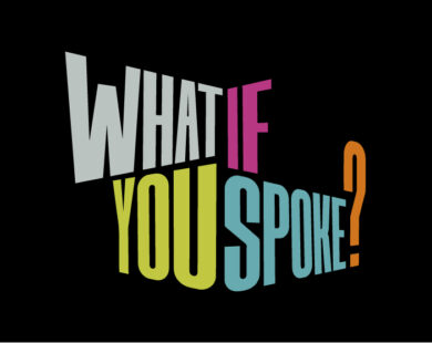 What if YOU spoke?