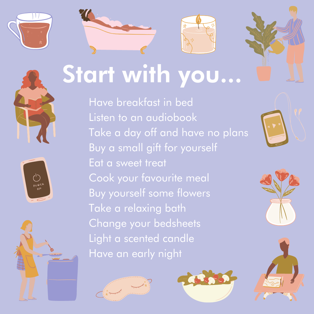 Start With You Generosity