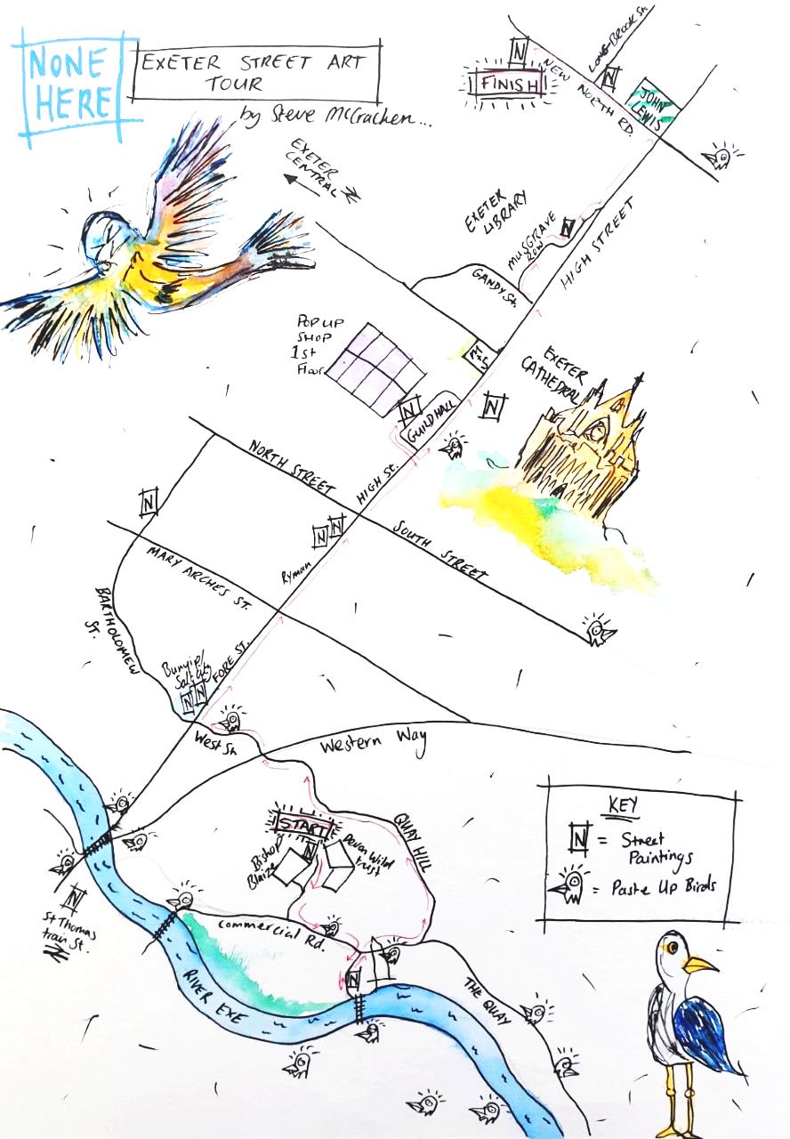 Steve Mccracken Map