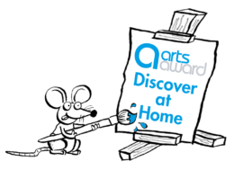 Discover At Home Logo