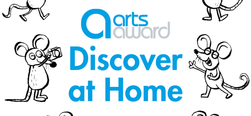 Arts Award Discover at Home is now live!