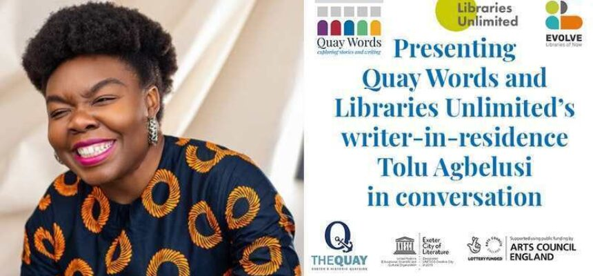 Writer-in-Residence Tolu Agbelusi - Quay Words and Libraries Unlimited partnership