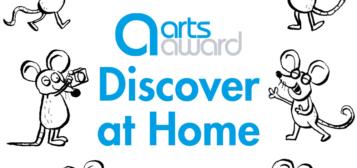 Arts Award – Discover at Home